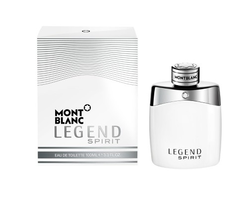 Montblanc Legend Spirit - Bottle + Packshot