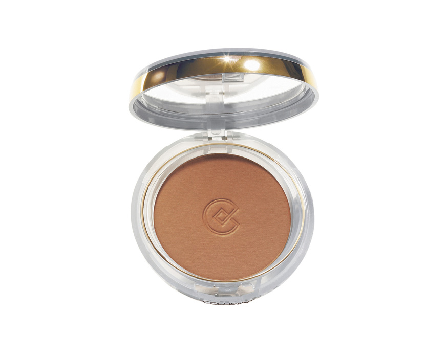 SILK-EFFECT BRONZING POWDER