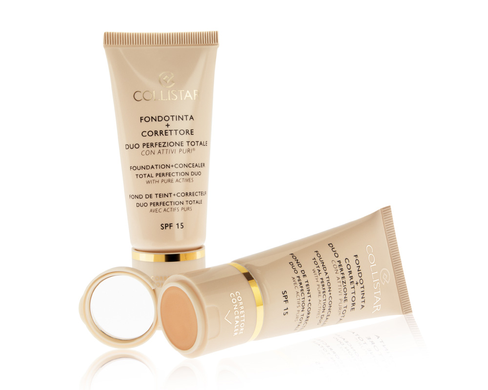 TOTAL PERFECTION DUO, FOUNDATION + CONCEALER