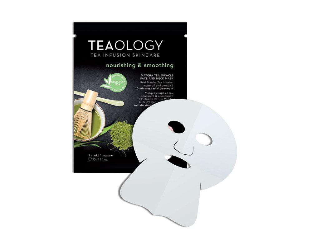 Matcha Tea Miracle Face and Neck Mask Nourishing & Smoothing 30 ml
